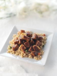 BBQ Teriyaki Chicken w rice