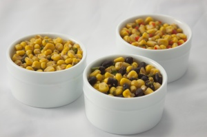 Corn salsas are easy vegetarian sides