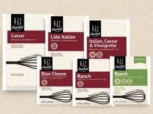 New packaging allows culinary professionals to differentiate dry mix products.