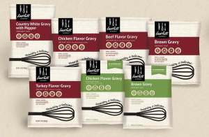 New packaging helps culinary professionals identify products more easily.
